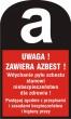 Nabór wniosków o udzielenie pomocy finansowej w 2015 roku na usuwanie wyrobów zawierających azbest